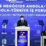 Angola'dan Türk iş insanlarına yatırım daveti